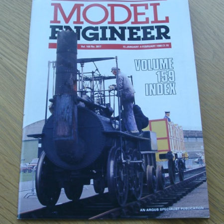 Model Engineer Vol 160 #3817 15th January 1988
