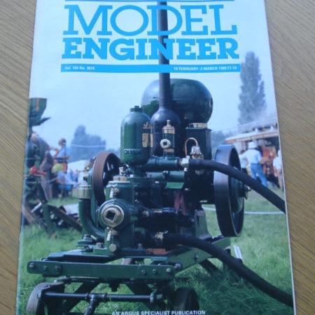 Model Engineer Vol 160 #3819 19th February 1988