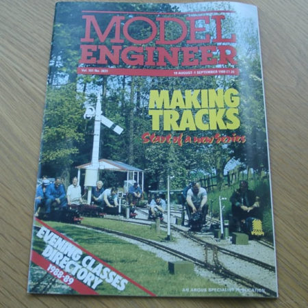 Model Engineer Vol 161 #3831 19th August 1988