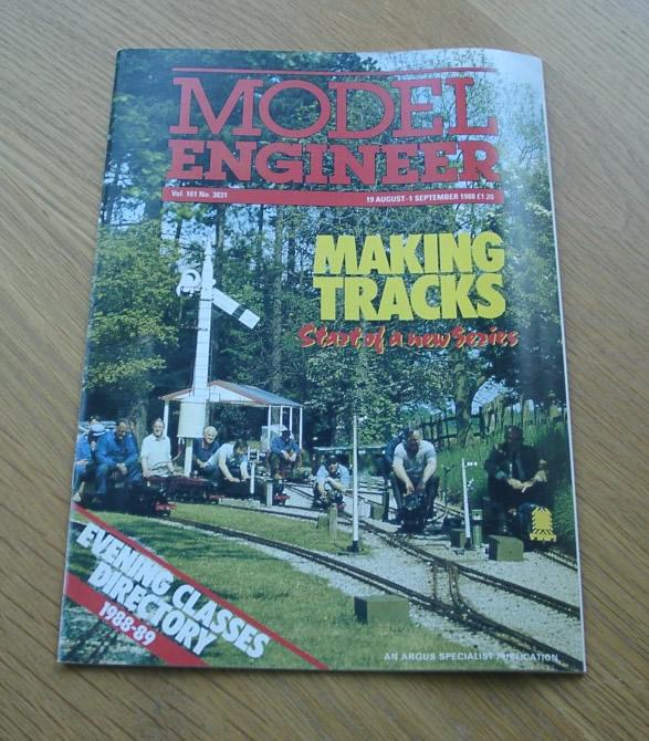 Model Engineer Vol 161 #3831 19th August 1988