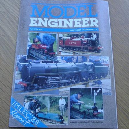 Model Engineer Vol 161 #3833 16th September 1988