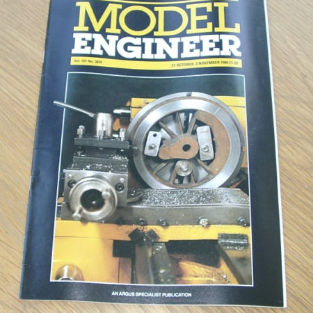 Model Engineer Vol 161 #3835 21st October 1988