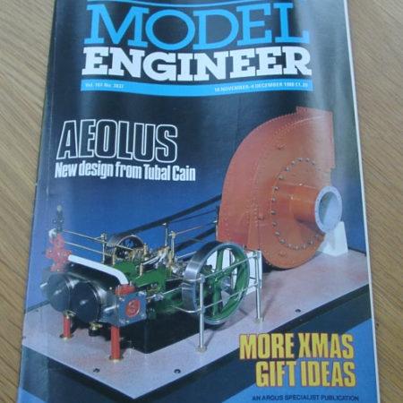 Model Engineer Vol 161 #3837 18th November 1988