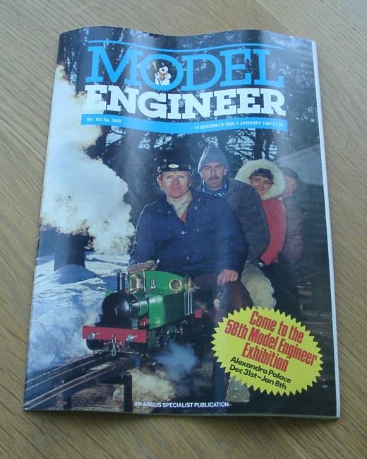 Model Engineer Vol 161 #3839 16th December 1988