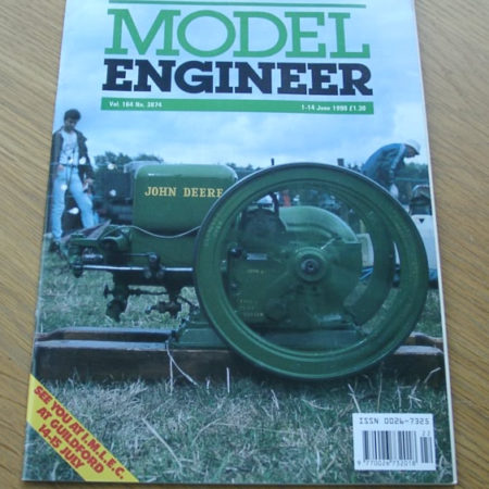 Model Engineer Vol 164 #3874 1st June 1990