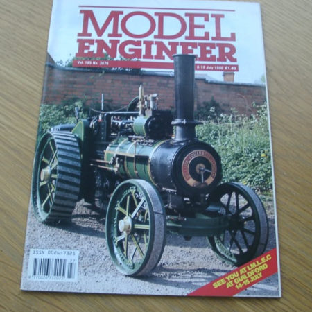 Model Engineer Vol 165 #3876 6th July 1990