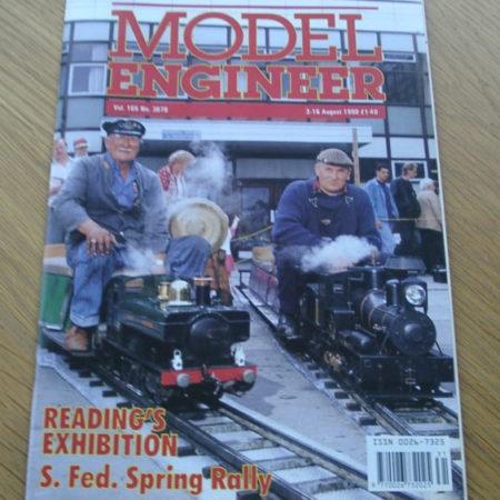 Model Engineer Vol 165 #3878 3rd August 1990