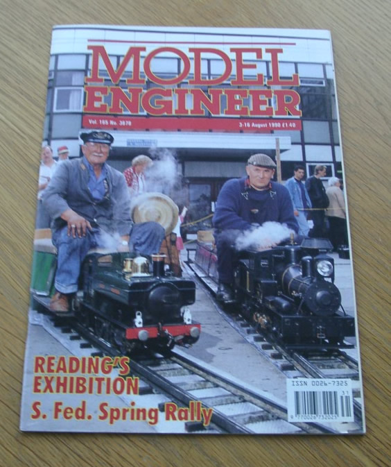 Model Engineer Vol 165 #3878 3rd August 1990