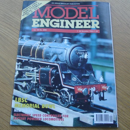 Model Engineer Vol 165 #3886 7th December 1990