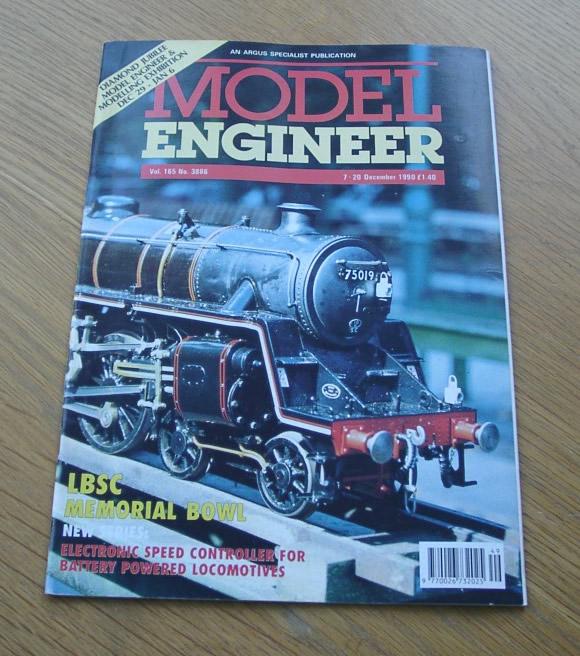 Model Engineer Vol 165 #3886 7th December 1990