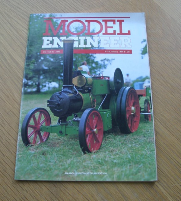 Model Engineer Vol 162 #3840 6th January 1989
