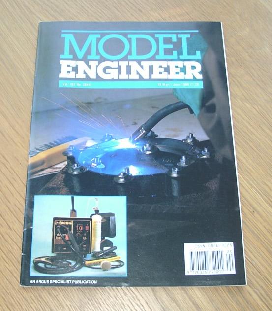 Model Engineer Vol 162 #3849 19th May 1989