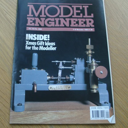 Model Engineer Vol 163 #3860 3rd November 1989