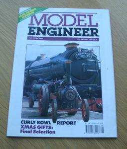 Model Engineer Vol 163 #3862 1st December 1989