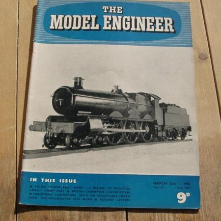Model Engineer Vol 110 #2757 March 25th 1954