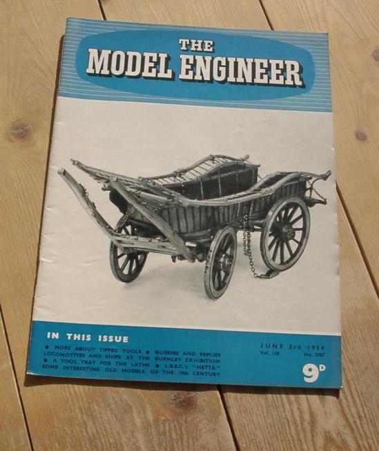 Model Engineer Vol 110 #2767 June 3rd 1954