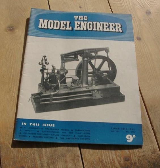 Model Engineer Vol 110 #2770 June 24th 1954