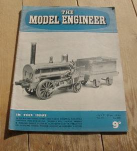 Model Engineer Vol 111 #2775 July 29th 1954