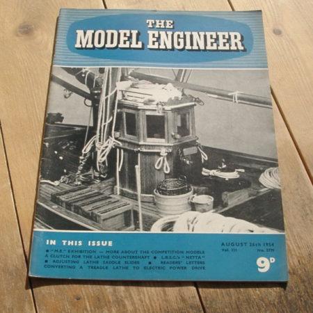 Model Engineer Vol 111 #2779 August 26th 1954