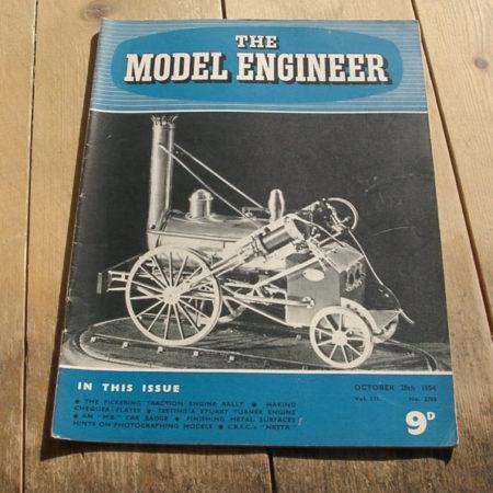 Model Engineer Vol 111 #2788 October 28th 1954