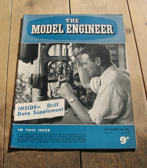 Model Engineer Vol 111 #2792 November 25th 1954