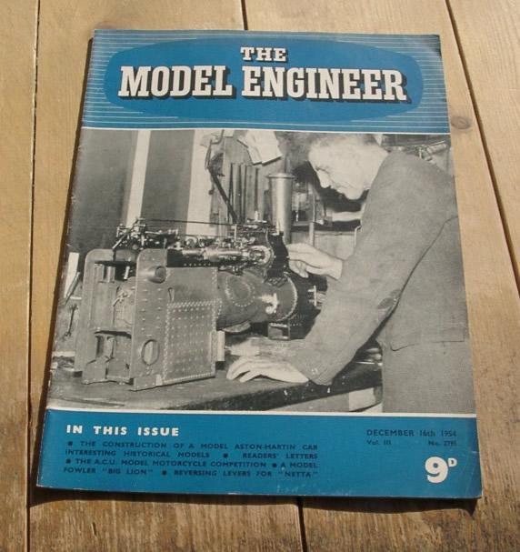 Model Engineer Vol 111 #2795 December 16th 1954