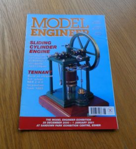 Model Engineer Vol 185 #4126 August 11th 2000