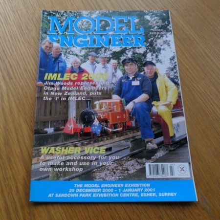 Model Engineer Vol 185 #4127 August 25th 2000