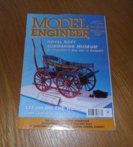 Model Engineer Vol 185 #4130 October 6th 2000
