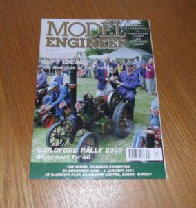 Model Engineer Vol 185 #4131 October 20th 2000
