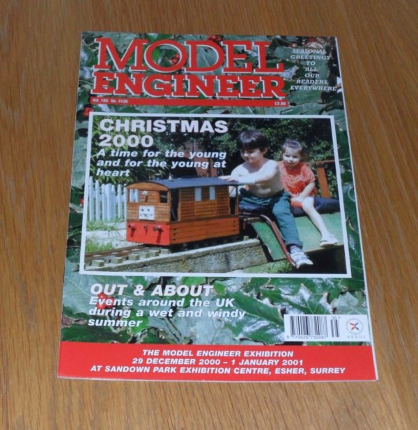 Model Engineer Vol 185 #4135 December 15th 2000