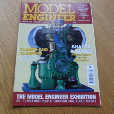 Model Engineer Vol 189 #4178 20th September 2002