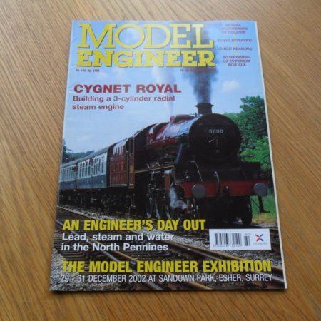 Model Engineer Vol 189 #4180 18th October 2002