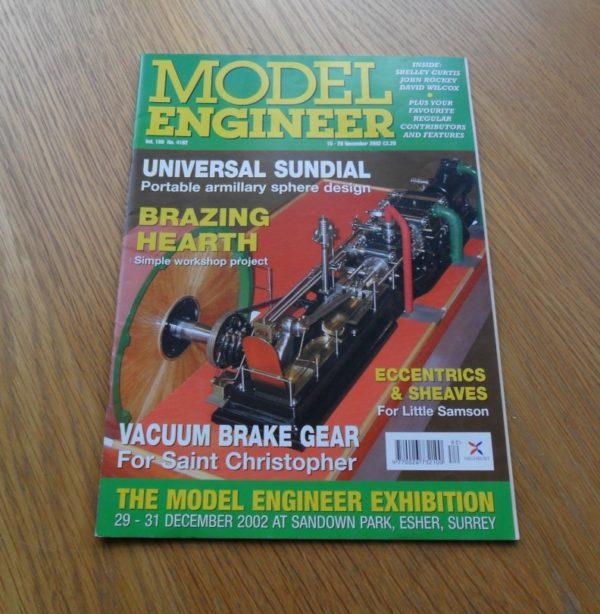 Model Engineer Vol 189 #4182 15th November 2002