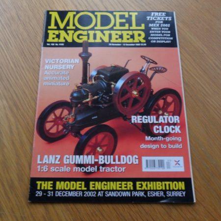Model Engineer Vol 189 #4183 29th November 2002