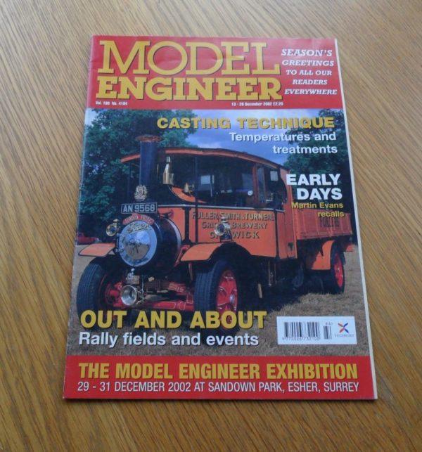 Model Engineer Vol 189 #4184 13th December 2002