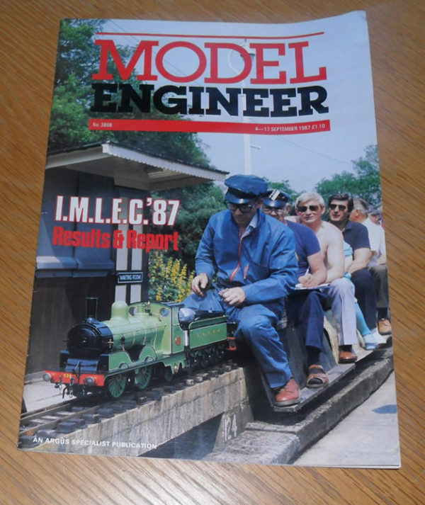 Model Engineer Vol 159 #3808 4th September 1987