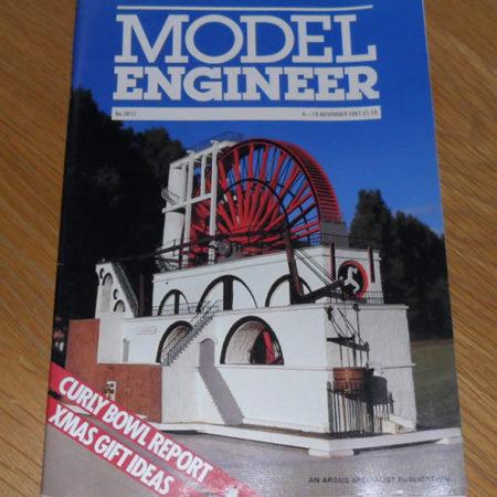 Model Engineer Vol 159 #3812 6th November 1987