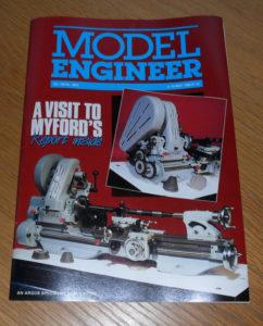 Model Engineer Vol 160 #3824 6th May 1988