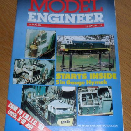 Model Engineer Vol 160 #3827 17th June 1988