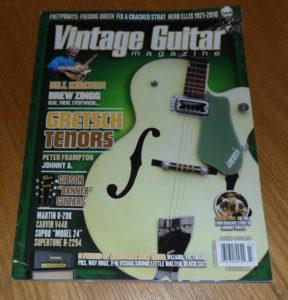 Vintage Guitar July 2010