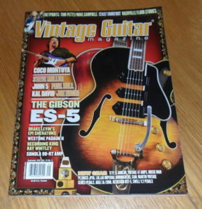 Vintage Guitar September 2010