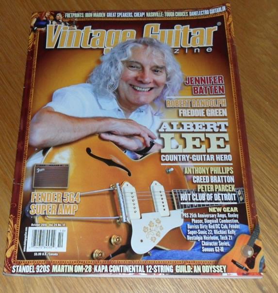 Vintage Guitar October 2010