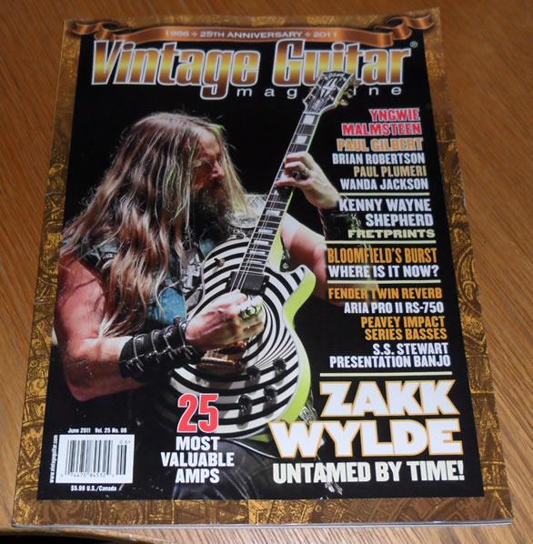 Vintage Guitar June 2011