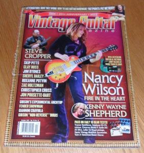 Vintage Guitar October 2011