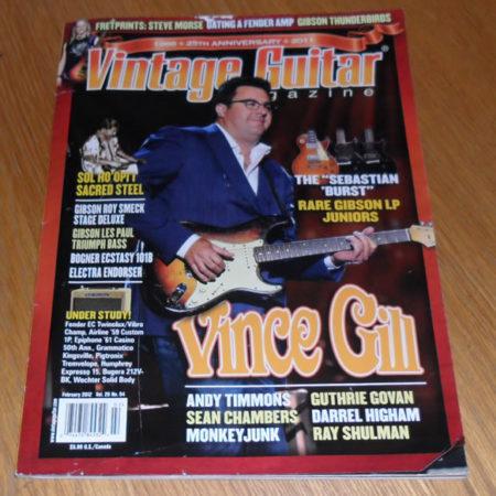 Vintage Guitar February 2012