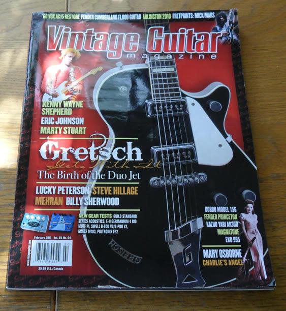 Vintage Guitar February 2011