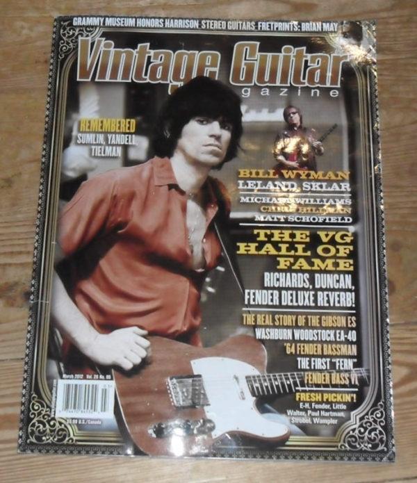 Vintage Guitar March 2012