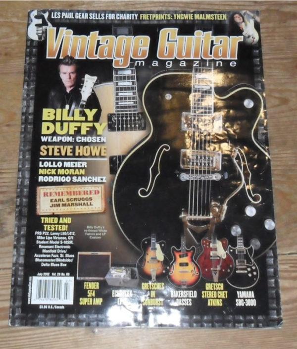 Vintage Guitar July 2012