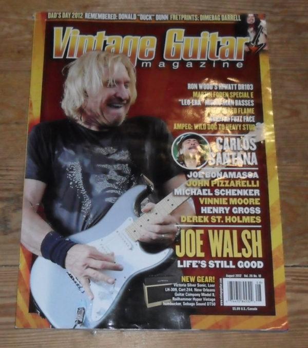 Vintage Guitar August 2012